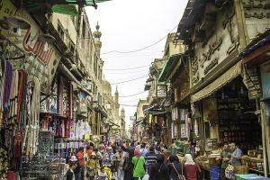 El Moez Street Old Cairo Egypt