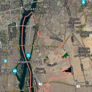 Map of Old Cairo
